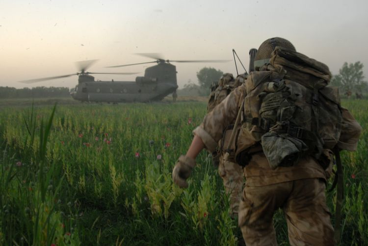 The MOD says the treatment is expected to benefit up to a third of seriously injured soldiers who would otherwise die from their wounds (Picture: MOD).