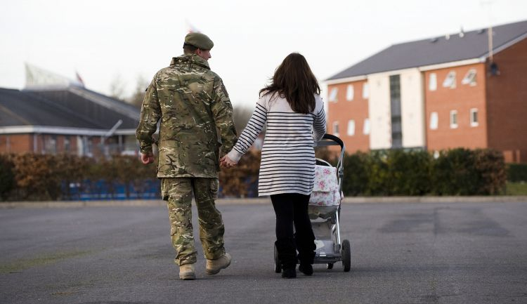 Families can stay strong at home until military members come home.