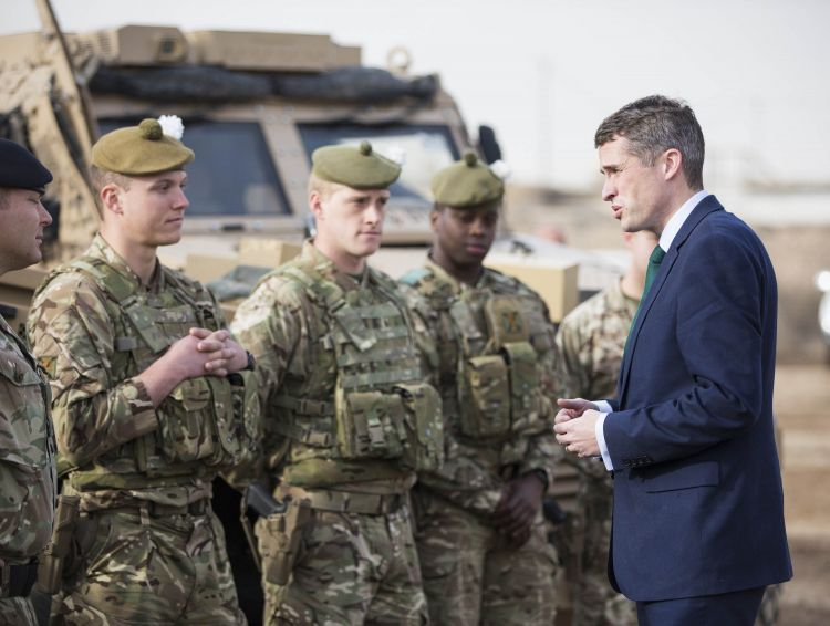 Defence Secretary Makes First Visit To Iraq