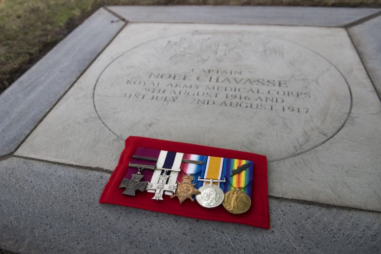 Chavasse VC medals in Liverpool