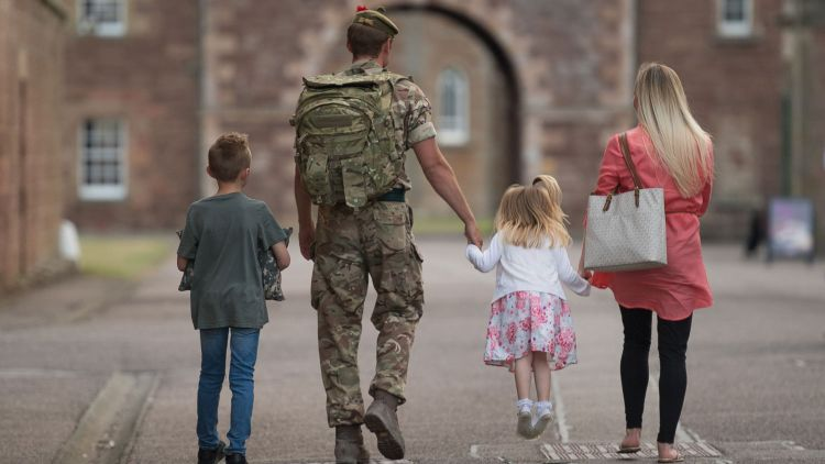 3rd Battalion The Royal Regiment of Scotland 3 SCOTS Homecoming Family