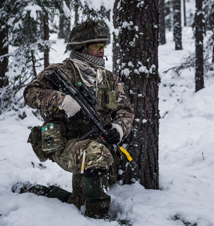 Exercise Winter Camp estonia