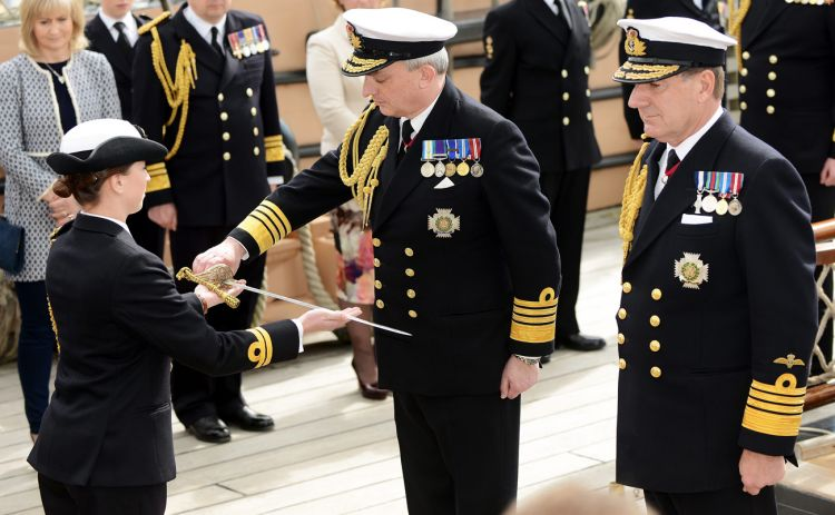 Admiral Sir Philip Andrew Jones became the first sea lord in 2016 281219.jpg