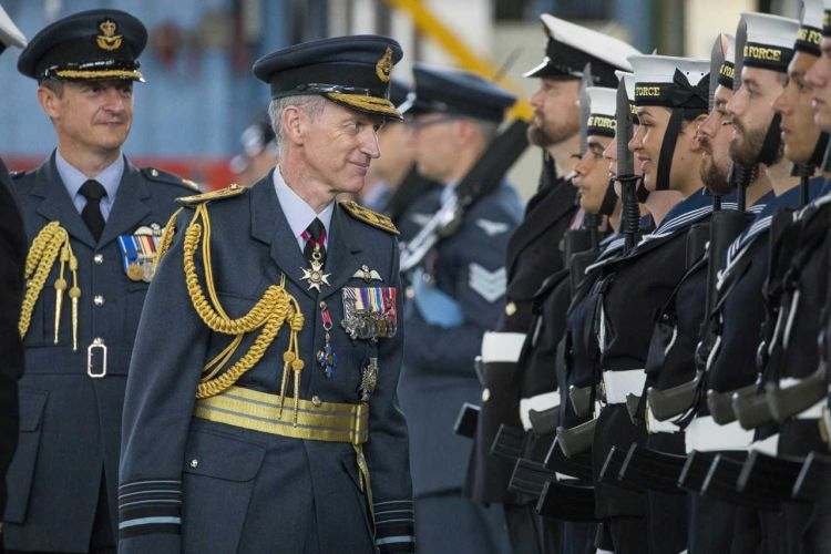 Air Chief Marshal Sir Stephen Hillier at the Consecration Parade (Picture: RAF).