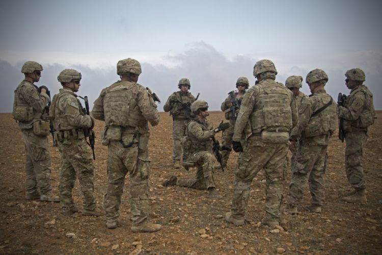 American soldiers in Syria (Picture: US Department of Defense).