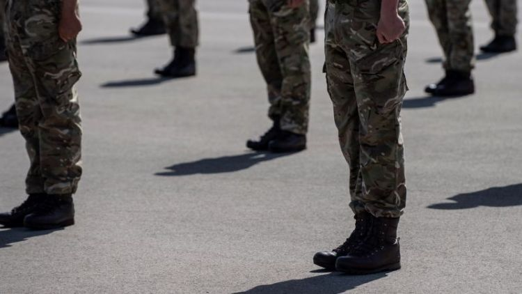 Anonymous Army recruits