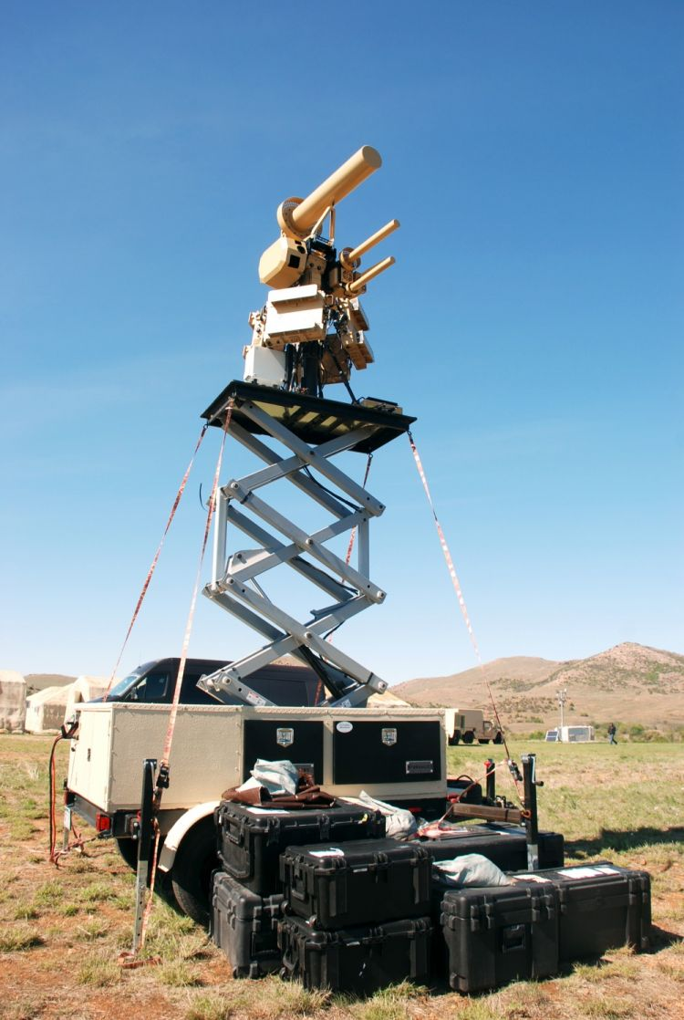 Anti unmanned aerial vehicle defense system AUDS