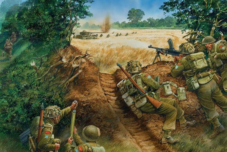 Anti-tank tactics from the Bren Gun book from Osprey