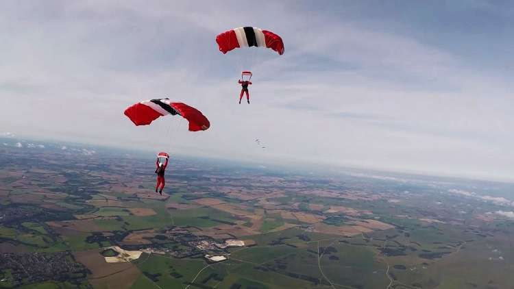 Armed forces parachute championships results why skydiving matters to military family - Military wingsuit ...