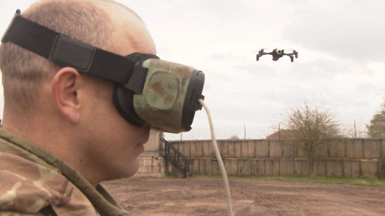 Army Combat Power Demonstration with gaming headset Credit BFBS 30.10.19.jpg