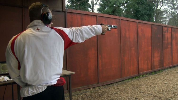 British Army Commonwealth Games shooter Sam Gowin