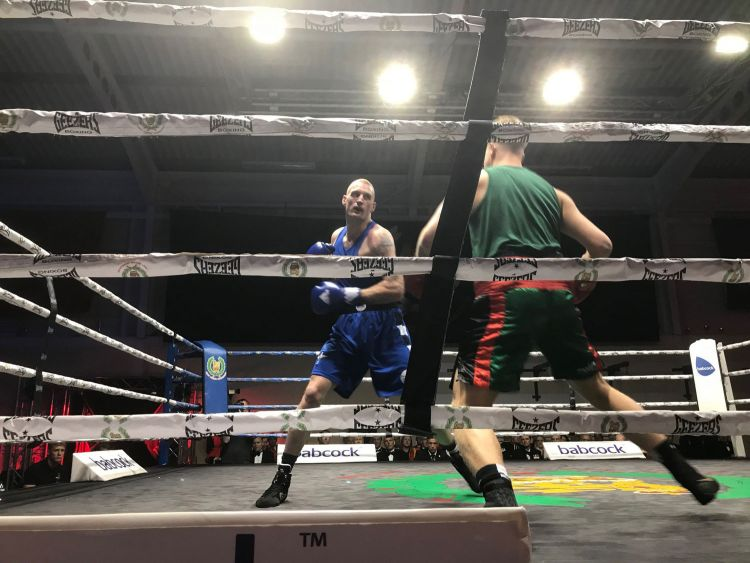 Army Major-Unit Boxing Final 2018