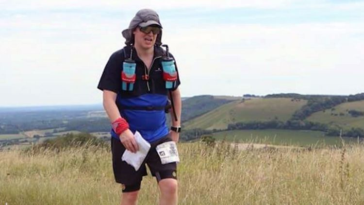 British Army veteran ultrarunner Rob Shenton