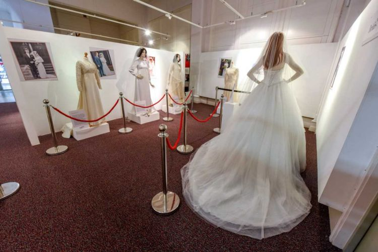Nine dresses are included in the exhibition (Picture: Fusilier Museum).