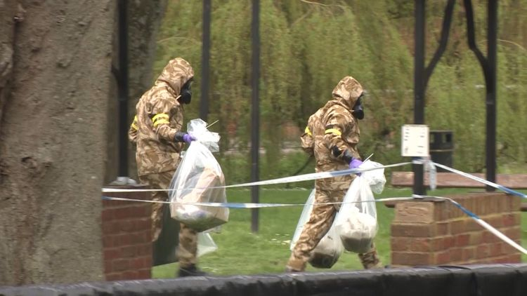 Army Salisbury clean up