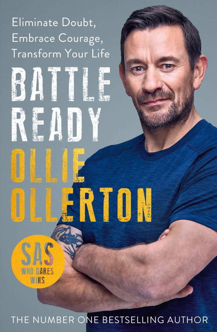 Ollie Ollerton Battle Ready Author Book