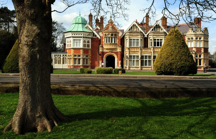 Bletchley Park main house
