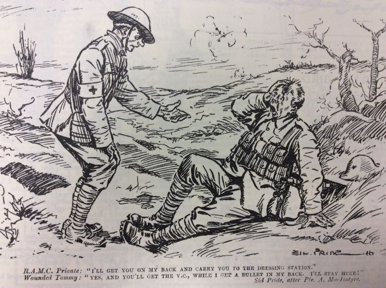 Blighty magazine cartoon VC