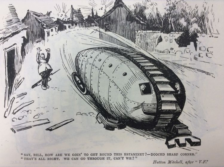 Blighty magazine cartoon tank