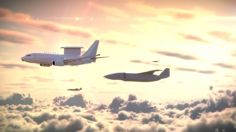 Computerised images released by Boeing to promote the Airpower Teaming Systems (Picture: Boeing).