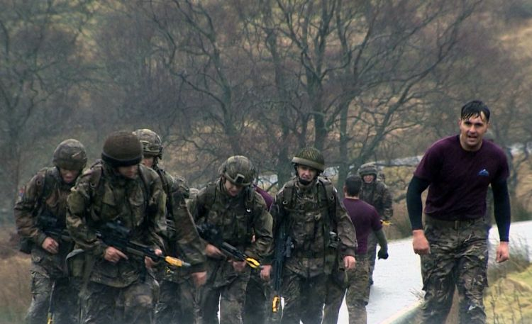 British Army Sennybridge Training Area leadership course