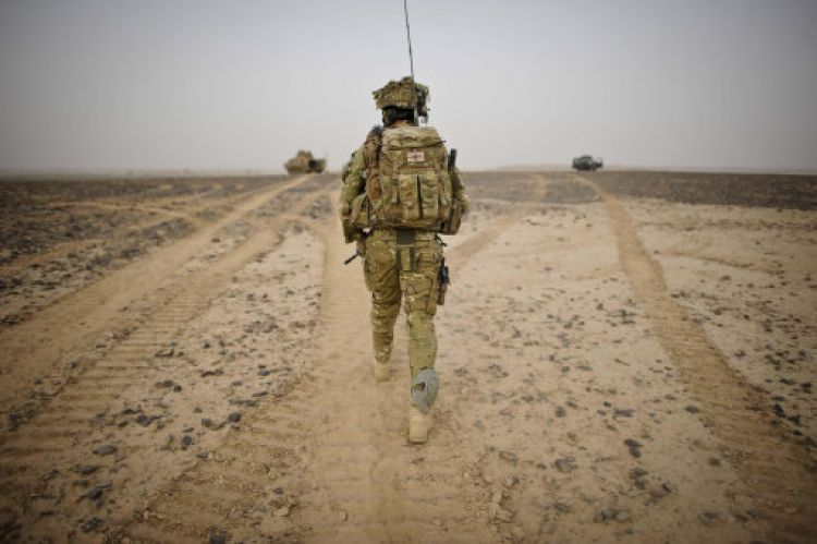 British Army Officer in Helmand Province (Picture: PA).