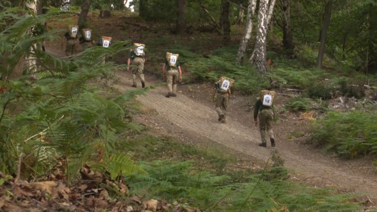 British Army soldiers Doko Race in UK for NHS trust support 230720 CREDIT BFBS.jpg