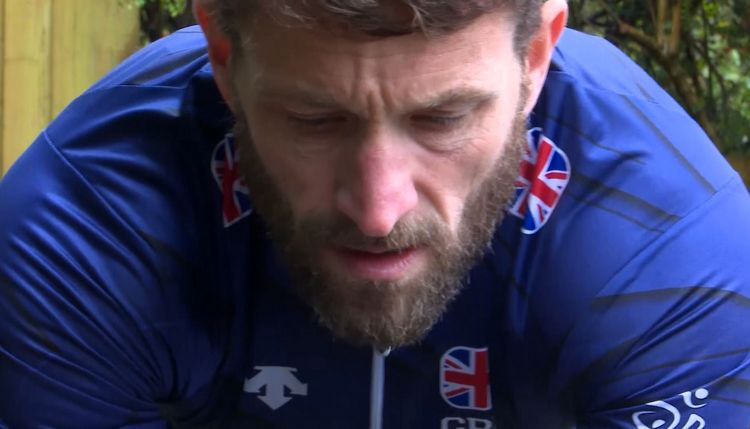 British Para-triathlate Army veteran Steve Crowley