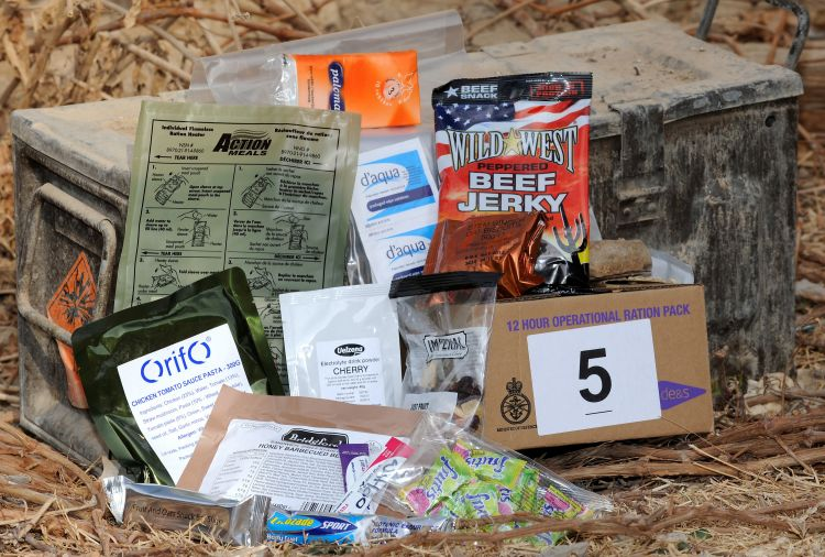 British Ration Pack, Afghanistan 2011