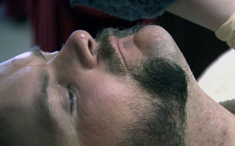 Bugler Rifles Mutton Chops Shaving Haircut