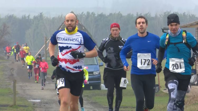 Runner Takes on 100 Marathons To Honor 100 Years Of The RAF