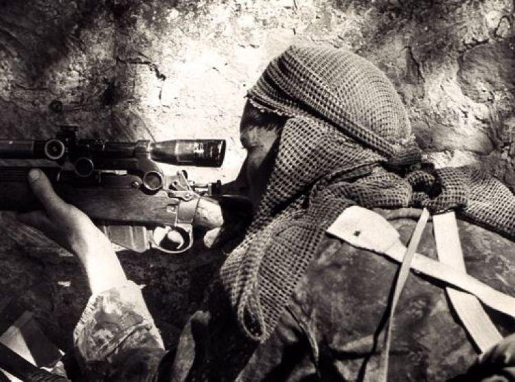 Canadian sniper WWII