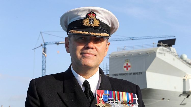 Captain Stephen Moorhouse CREDIT ROYAL NAVY