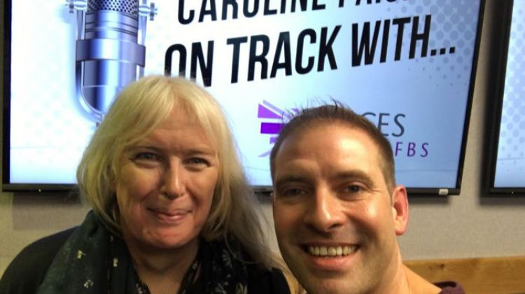 On Track With Caroline Paige Mike Howarth LGBTQ Month Forces Radio BFBS