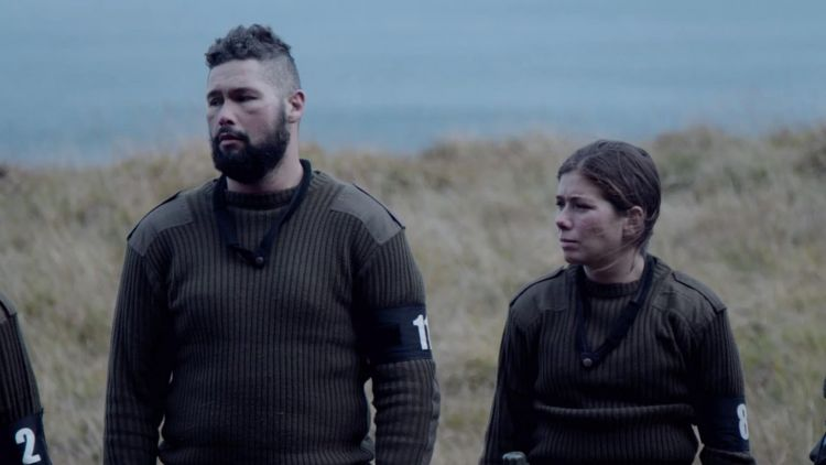 Celebrity SAS Who Dares Wins Episode 3 Tony Bellew Nikki Sanderson Credit Channel 4