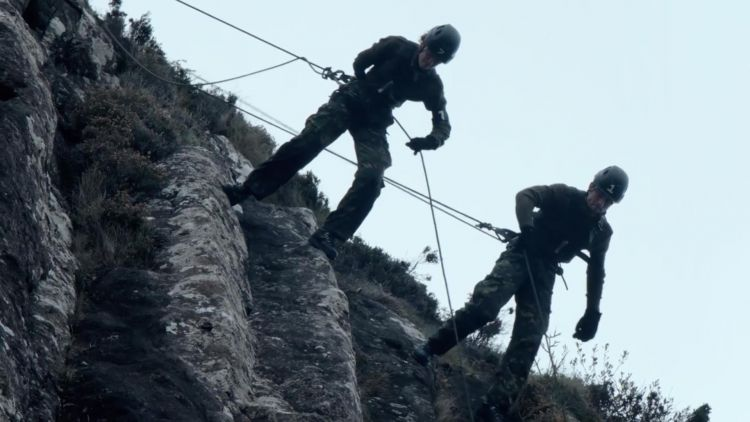 Celebrity SAS Who Dares Wins Episode 3 Joey Essex Lauren Steadman Credit Channel 4