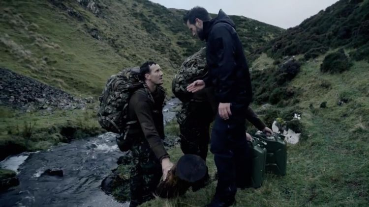 Celebrity SAS Who Dares Wins Episode 4 Ant Middleton Brendan Cole Credit Channel 4
