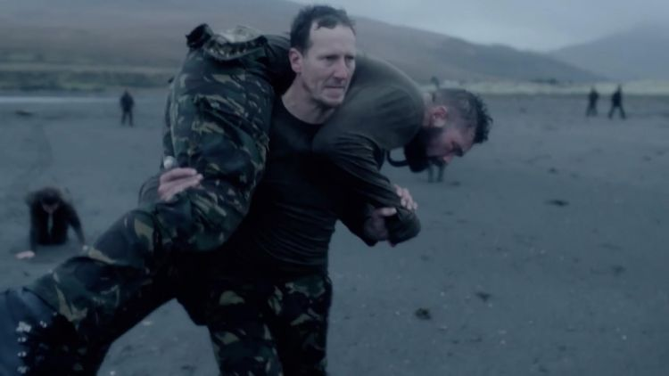 Celebrity SAS Who Dares Wins Episode 4 Brendan Cole Tony Bellew Credit Channel 4