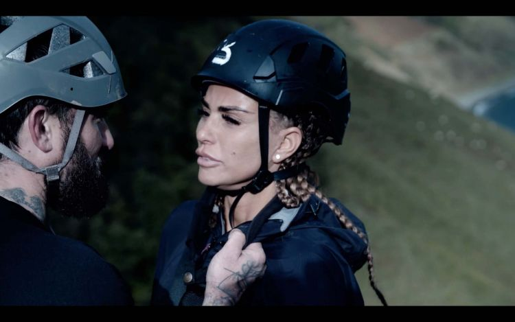 Katie Price Ant Middleton Celebrity SAS Who Dares Wins Credit Channel 4