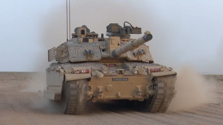 Challenger 2 battle tanks will be upgraded in the British Army