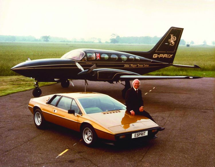 Chapman-Esprit-JPS plane MUST CREDIT GROUP LOTUS PLC