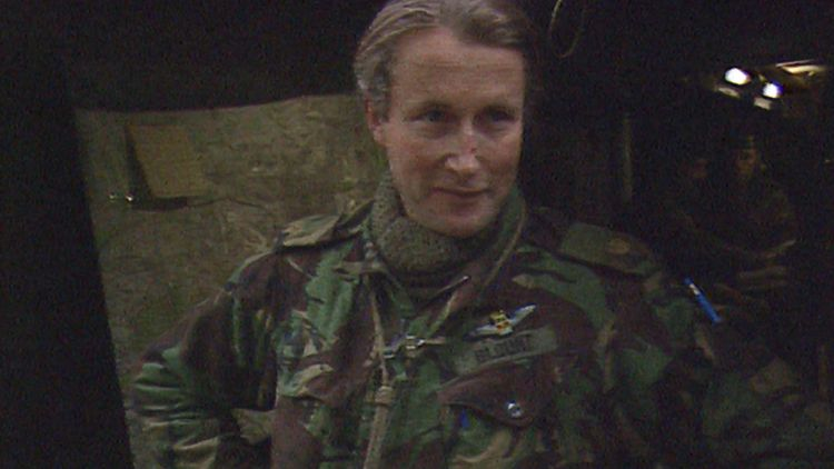 Major Charles Blunt Speaking To Forces News On Exercise Lionheart in 1984.