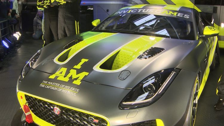 New Invictus Games Motor Racing Team Launched