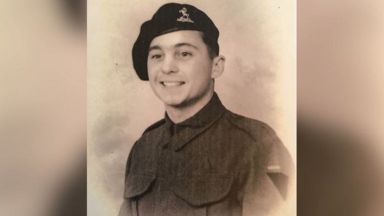 D-Day veteran Tony Rampling