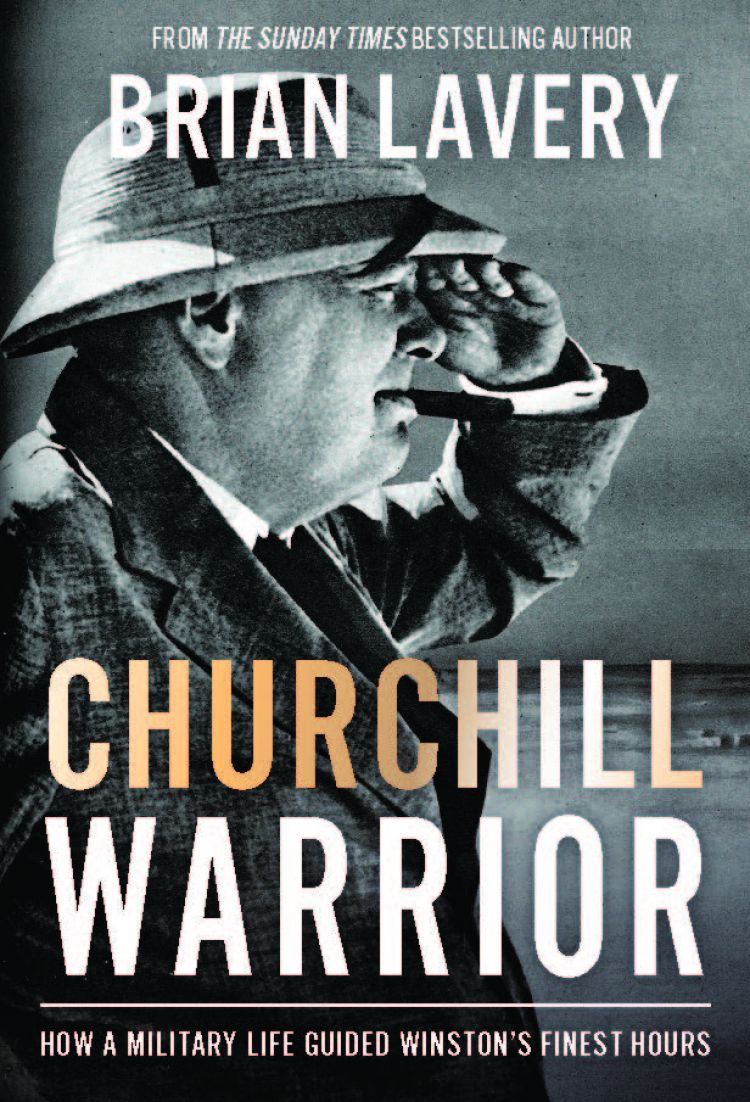 Churchill Warrior by Brian Lavery front cover