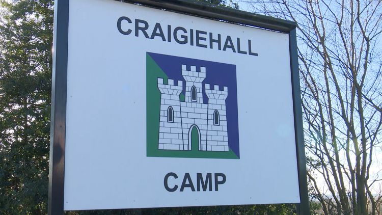 Craigiehall Camp Sign Closing Credit BFBS 060319