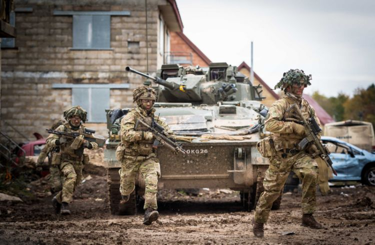2019 Army Combat Power Demonstration (ACPD) on Salisbury Plain from 28 – 30 Oct 2019.