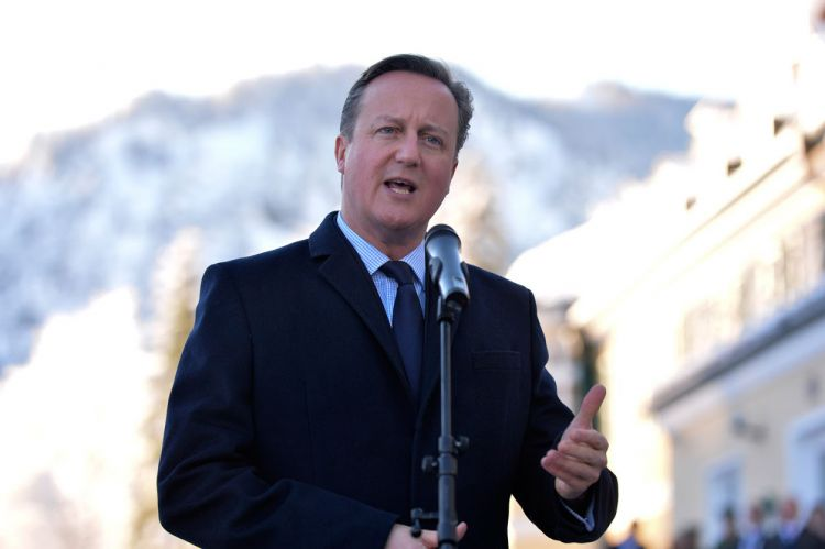 Cameron: It is In Britain's Interest To Support Libyan Government