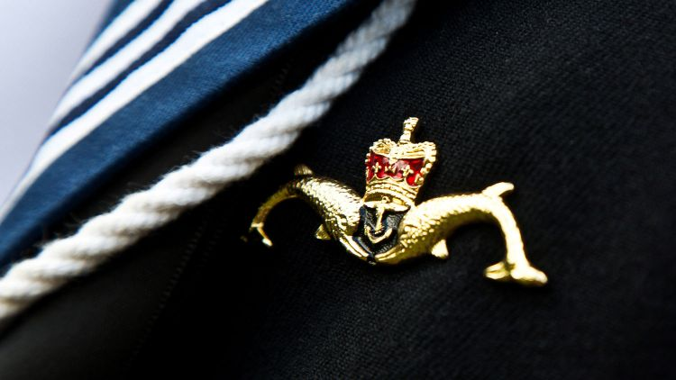 Dolphin Badge Royal Navy Submarine Service