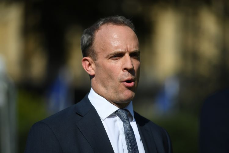 Dominic Raab 121019 CREDIT PA